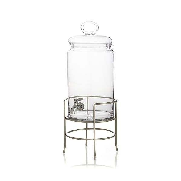 Crate & Barrel Drink Dispenser