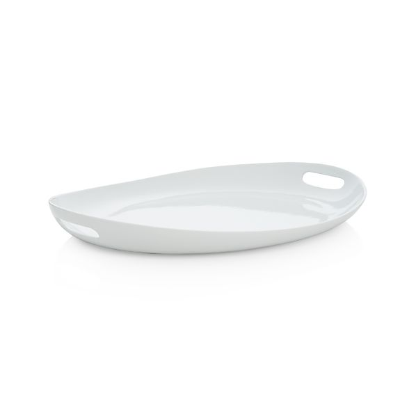 Crate & Barrel Oval Platter