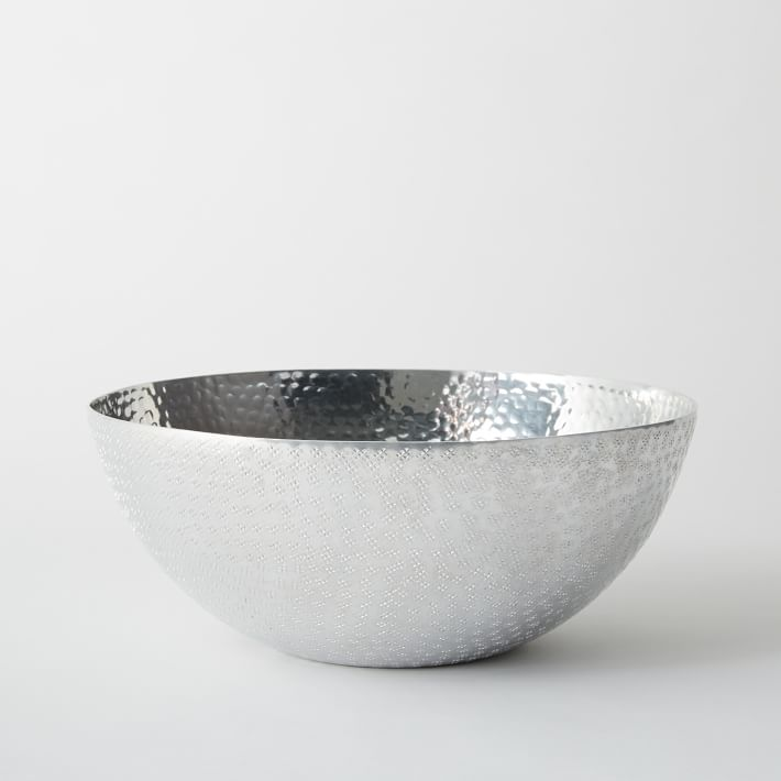 West Elm Stamped Metal Bowl