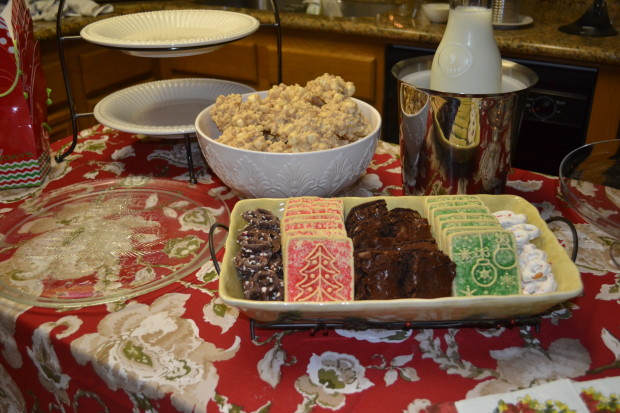 Last year's cookie exchange