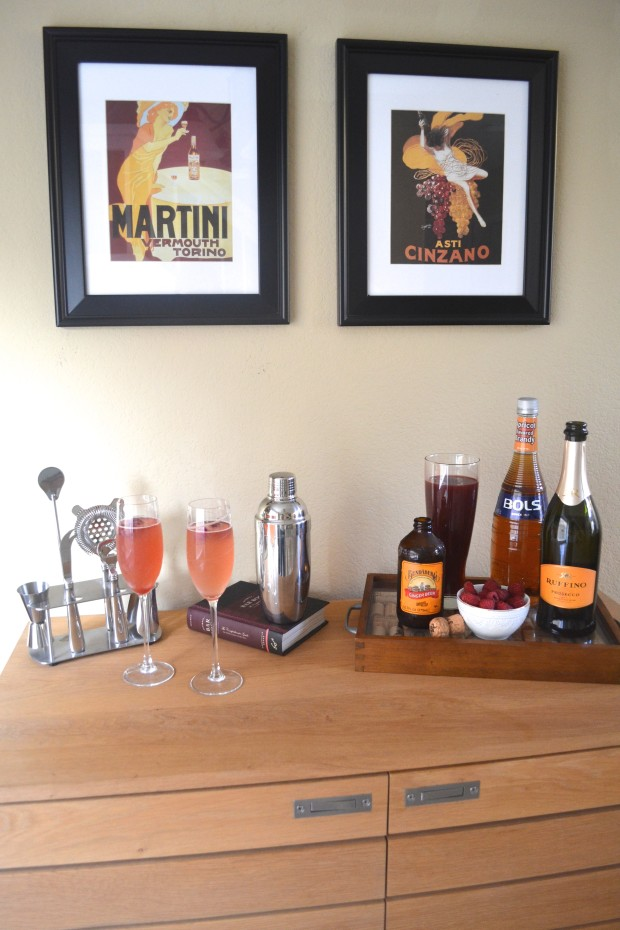 Raspberry Cocktail/Home Bar
