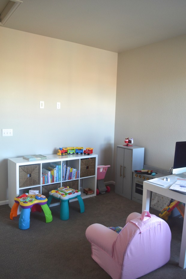 One Room Challenge-Office/Playroom