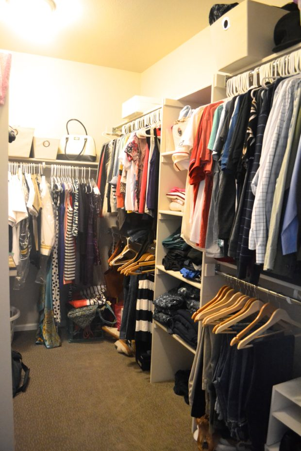 New Home Tour - Closet