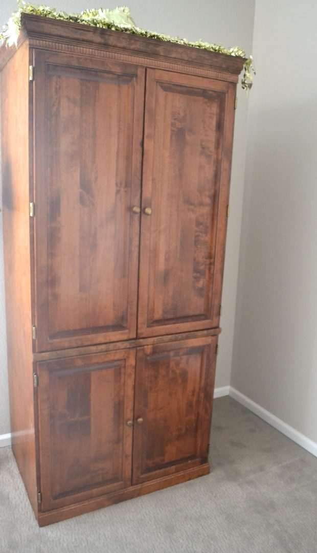 Craft Storage Armoire