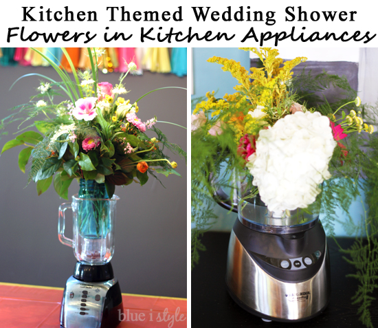 KitchenShowerFlowersInAppliances