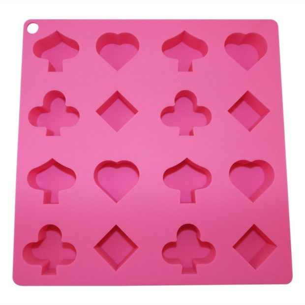 Poker Ice Molds