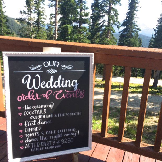 Mountain Wedding-Sign