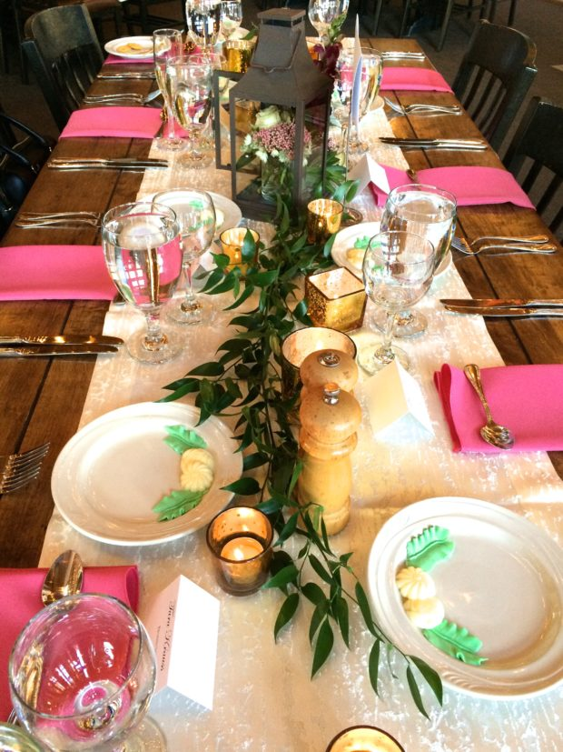 Mountain Wedding-Tablescape