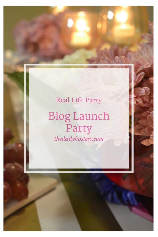 Pinterest Graphic-Blog Launch Party