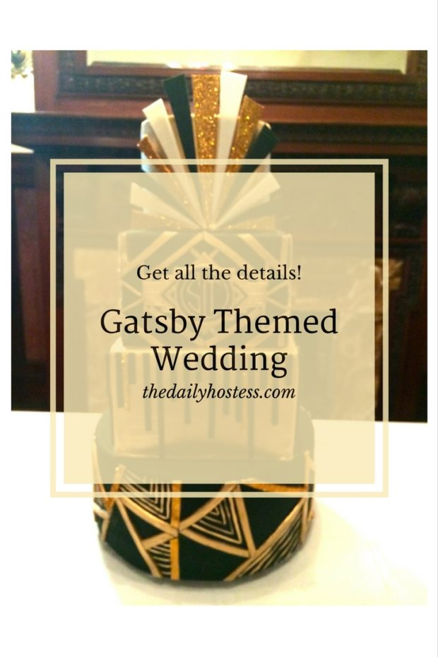 Pinterest Graphic-Gatsby Themed Wedding