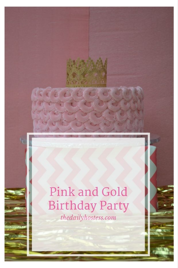 Pinterest Graphic-Pink and Gold Birthday