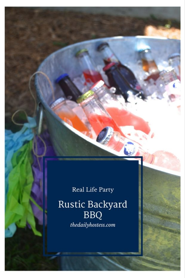 Pinterest Graphic-Rustic Backyard BBQ