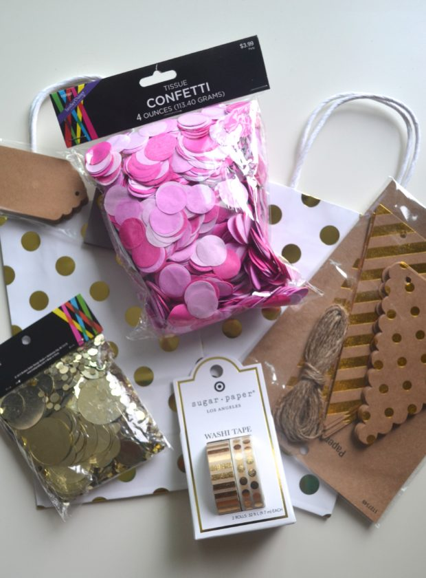 Want to enter to win everything you need for a pink and gold party? Click through to enter!