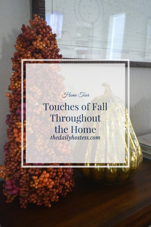 See the touches of Fall around the house by clicking here.