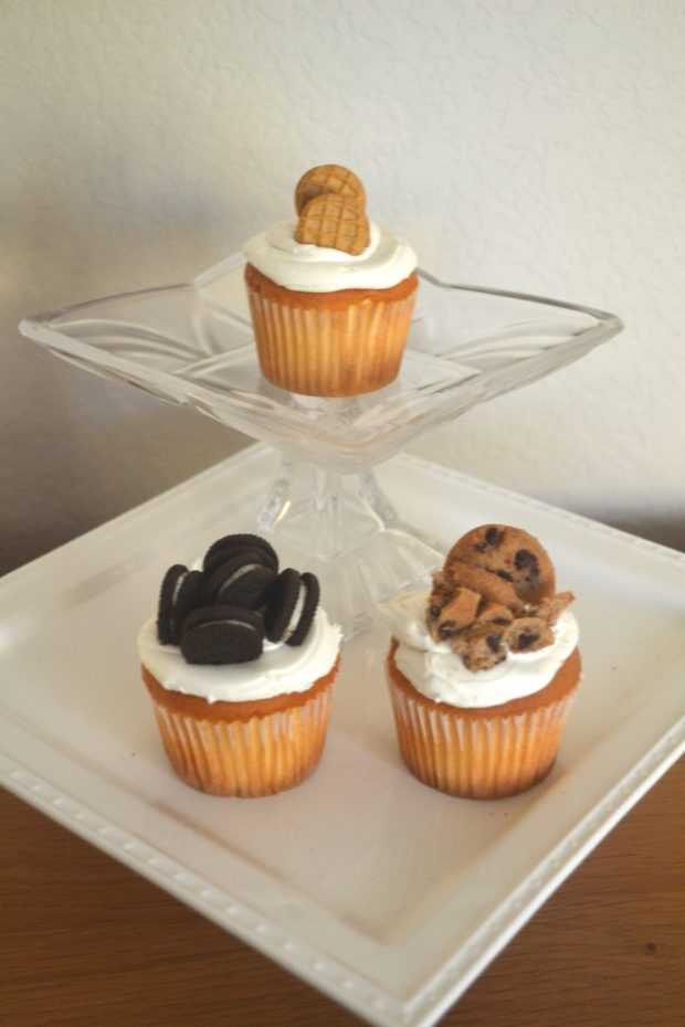 Turn basic store bought cupcakes into a beautiful and delicious dessert. Click here now!