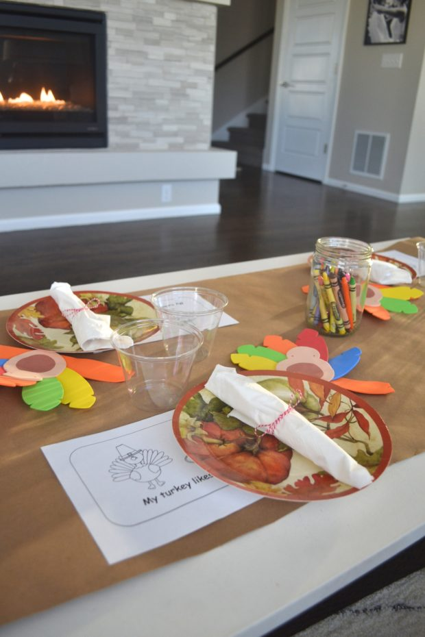 Click here for ideas on setting up a kids Thanksgiving Table so cute you'll want to sit there too!