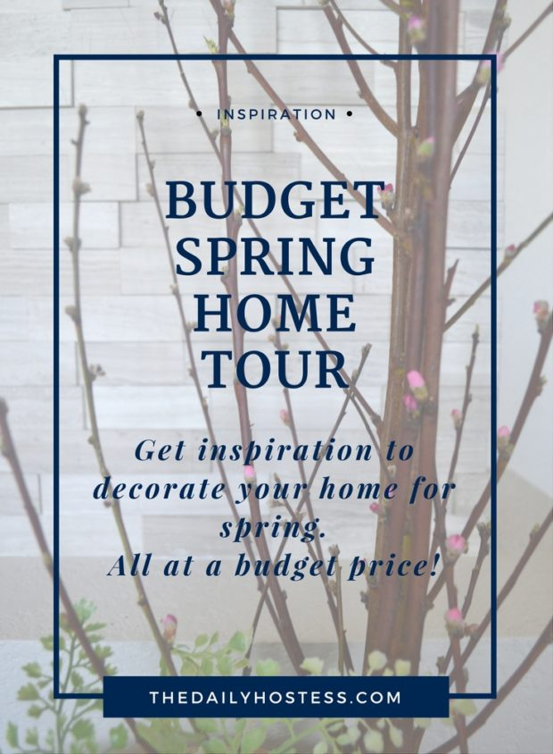 Spring home tour inspiration, spring colors, flowers, living room, kitchen and dining room spring inspiration.