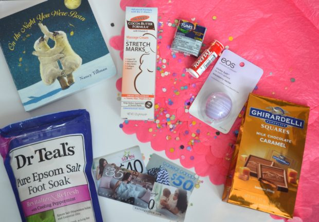 What to include in a pregnancy care package, pregnancy must haves