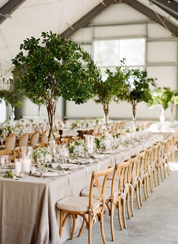 Use the Pantone Color of the Year Greenery for a Party Color Scheme, Greenery, Pink, and Gray