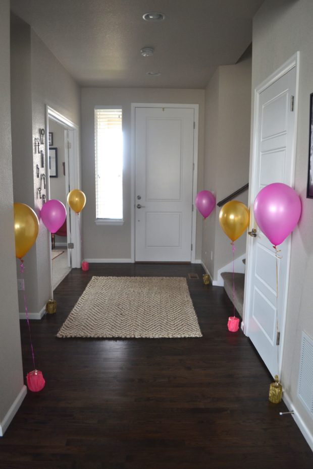 DIY Balloon weights using canned goods, save money on helium balloons with your own weights