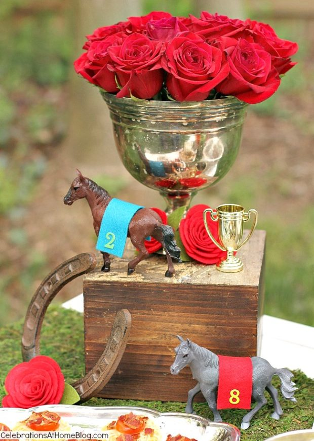 May party round up, Kentucky derby party, roses and horses, derby party