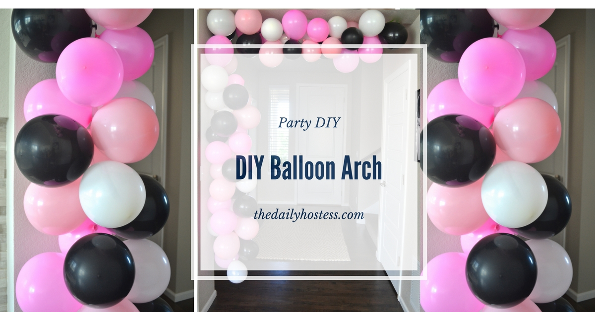 Old Fashioned How To Make A Balloon Arch Without Helium And Frame ...