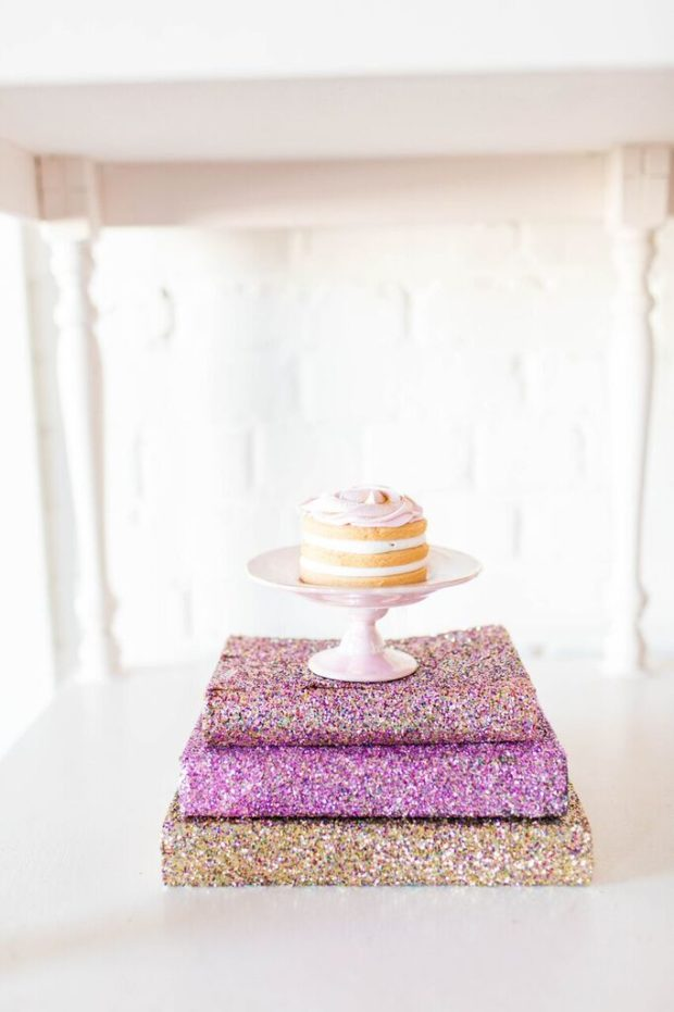October party ideas, October celebration round up, glitter and glam party ideas, glitter party, girly party with glitter