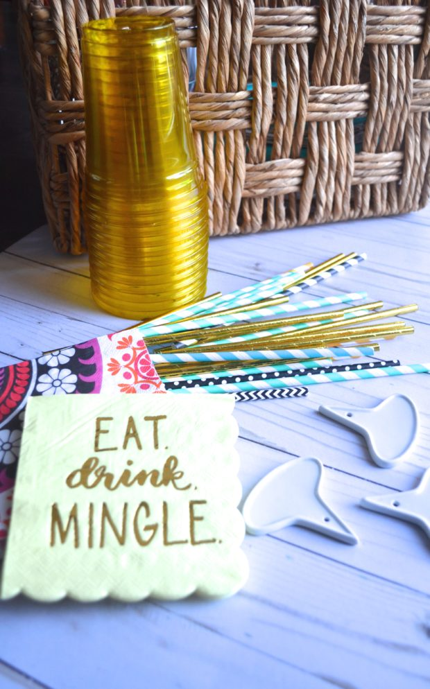 party pantry checklist, organized pantry for a party, how to host a party with what's in your pantry