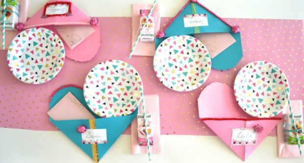 kids Valentine's day party ideas, kids snack party, Valentine's day snacks