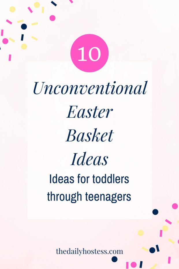 Easter basket ideas, Easter baskets for toddler, Easter baskets for teens, Unconventional Easter baskets
