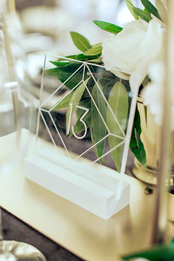 clear wedding trend, clear party decor, wedding trends to use at home, translucent party decor