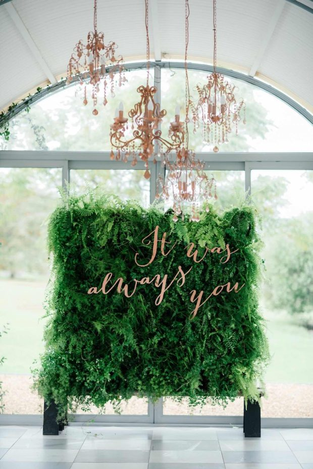 wedding trends, potted plant wedding trend, how to decorate your party with potted plants, party ideas with potted plants