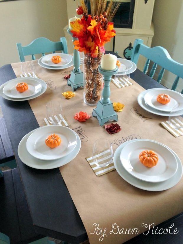 10 Tablecloth alternatives, ideas of things to use for tablecloths, party tablecloth ideas, tablecloths and table runners