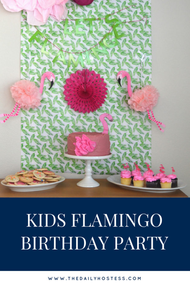 flamingo birthday ideas, flamingo cake, flamingo birthday activities, tropical flamingo party