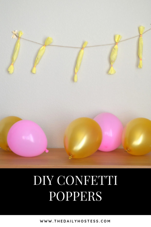 diy confetti poppers, easy diy confetti poppers, how to make your own confetti poppers