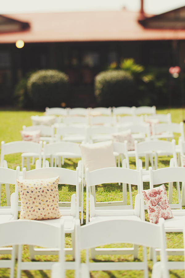 five ways to make chairs stand out at a party, ribbon back chairs, decorating party chairs