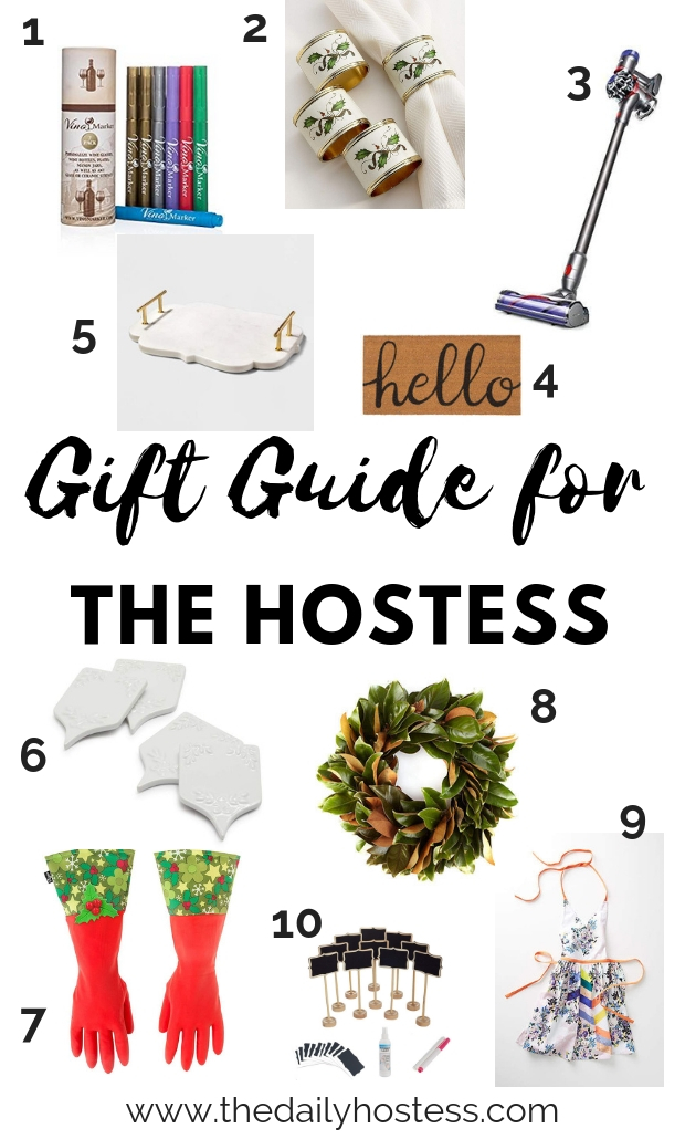 gift guide for someone who loves to host, hostess gifts, gift guide for the hostess,