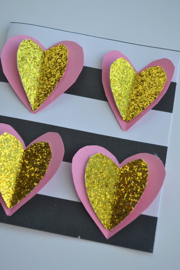 DIY Valentine's day greeting cards, look a like Hallmark Signature cards, how to make cute valentine's day cards