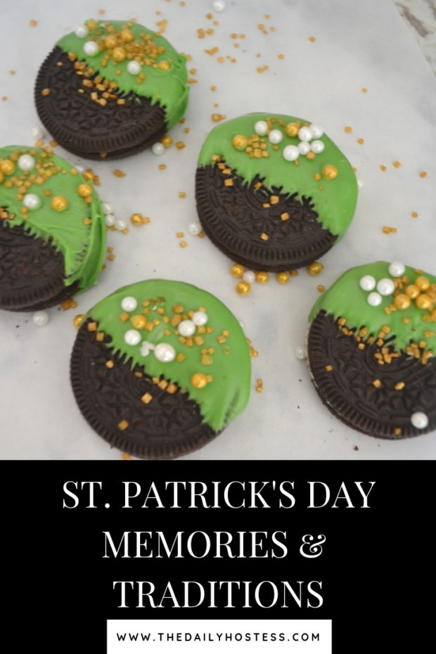 St. Patrick's Day memories, St. Patrick's day traditions, green treats, easy St. Patrick's Day traditions