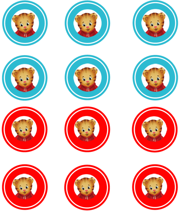 photograph about Daniel Tiger Printable identify Bash Rewind: Daniel Tiger Birthday Occasion with Absolutely free