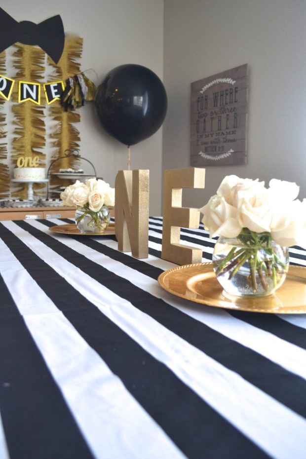 Real Life Party Mr Onederful Dapper Themed First Birthday