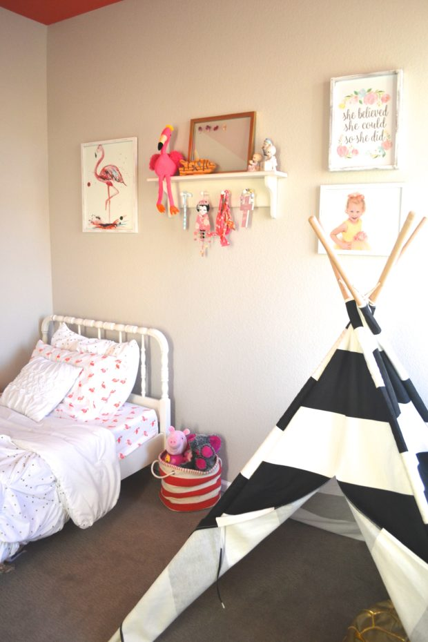 Flamingo 2 Bedroom Suite: Flamingo Themed Big Girl Room Reveal